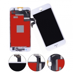 LCD Display + Screen Touch Digitizer + Frame Assembly For iPhone 7 White