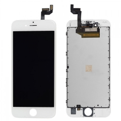 LCD Display + Screen Touch Digitizer + Frame Assembly For iPhone 6S White