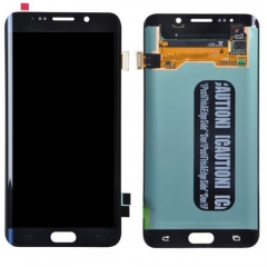 For Samsung Galaxy S6 Edge Plus + G928 G928F G928A LCD Display Touch Screen Digitizer Assembly Blue