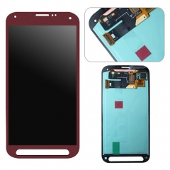 For Samsung Galaxy S5 Sport G860 G860P LCD Display Touch Screen Digitizer Assembly Red