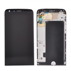 For LG G5 H820 H830 H831 H840 H850 LCD Display Touch Screen Digitizer Panel Glass Frame Assembly Black