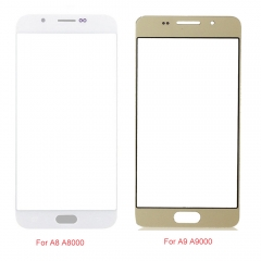 For Samsung Galaxy A8 A800 A9 A900 2015 A8 A810 A9 A910 2016 Front Outer Glass Lens Screen Cover