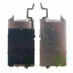 For iPhone 6 Plus Metal Backplate Shield + Home Button Extend Flex Cable