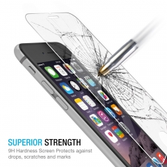 For iPhone 6 6S 4.7 Tempered Glass Protective Screen Protector Film