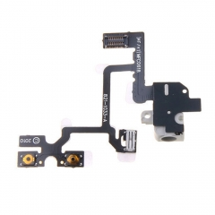 For iPhone 4G Headphone Audio Jack Volume Switch Power Flex Ribbon Cable