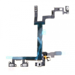 For iPhone 5G Power Volume Button Switch Connector Flex Cable Ribbon