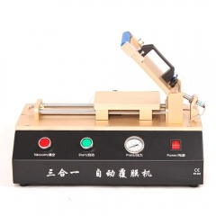 3 in 1 Auto OCA Film Machine With Vacuum Pump Air Compressor For OCA Laminating Free Shipping