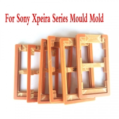 LCD Outer Glass Lens Repair Mould Mold Alignment LOCA UV Glus For Sony iPhone For Xperia Z1 2 3 4 5 Mini Compact Premium