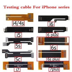 For iPhone 4/4S 5 6 6S 7 8 Plus X Lcd Display Touch Screen  Extension Test Testing Cable