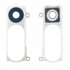 For LG G3 D850 D851 D855 LS990 VS985 Camera Glass Lens Cover With Frame And Adhesive