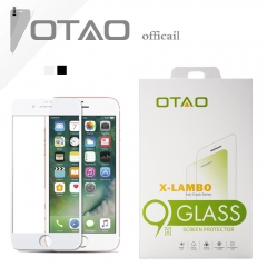 For iPhone 6 6S Plus OTAO Full Cover 0.33mm Corning Gorilla Tempered Glass Screen Protector Film