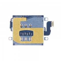 For iPad 3 Sim Card Tray Slot Holder With Flex Cable