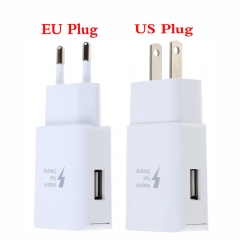 US EU Fast Charging Charger Adaptive Adapter Wall Power Charger For Samsung Galaxy Note 5 8 S6 7 Edge S8 Plus