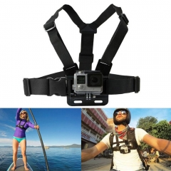 Adjustable Elastic Chest Strap Harness Mount for GoPro HD Hero 1 2 3 3+ 4/5 Camera