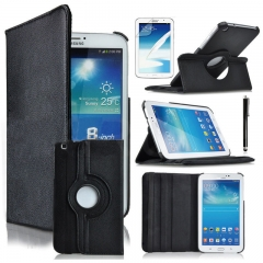 "For Samsung Galaxy Tab A 2 3 4 S2 E 10.1"" 9.7"" 8"" 7"" 360° Rotate PU Leather Case Cover"