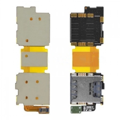 For Samsung Galaxy S5 G900F Sim Card Slot Holder With Flex Cable