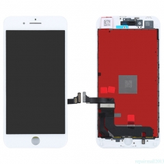 For iPhone 8 Plus LCD Display + Screen Touch Digitizer + Frame Assembly White