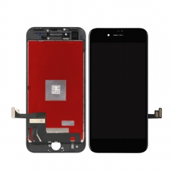 For iPhone 8 LCD Display + Screen Touch Digitizer + Frame Assembly Black