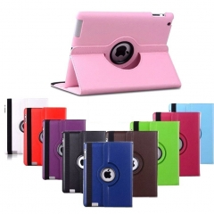 For iPad Mini Air Pro 2 3 4 9.7 10.5 2017 360 Degree Rotation PU Leather Holder Protective Back Case Cover