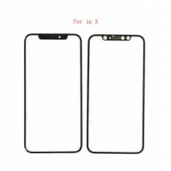 For iPhone X Front Outer Glass Lens Replacement Parts